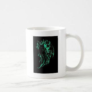 Green Smoke Dragon Coffee Mug