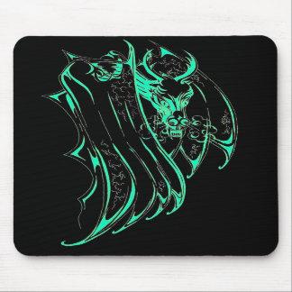 Green Smoke Dragon Mousemat