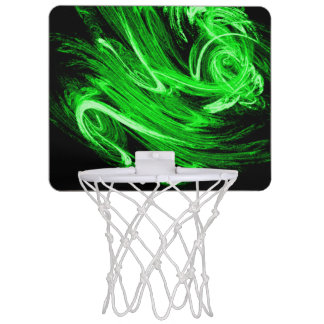Green Smoke Mini Basketball Hoop