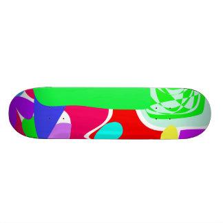 Green Smoke 19.7 Cm Skateboard Deck