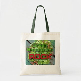 Green Smoothies Rock Tote Bag