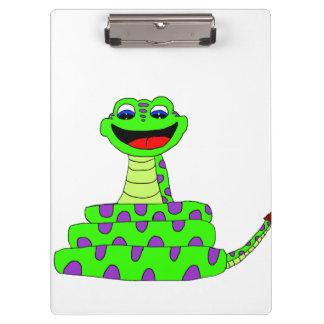 Green snake clipboard