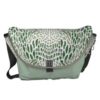 green Snake Courier Bags
