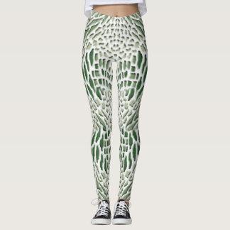 green snake leggings