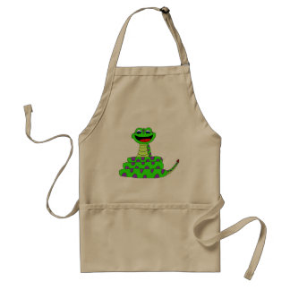 Green snake standard apron
