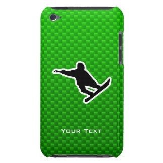 Green Snowboarding iPod Touch Covers