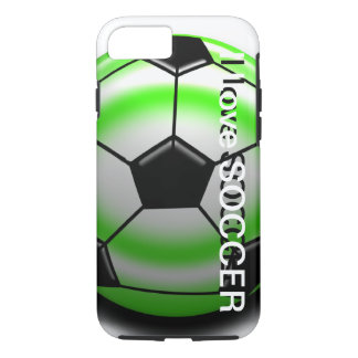 Green Soccer Ball iPhone 7 case