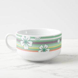 green soup mug