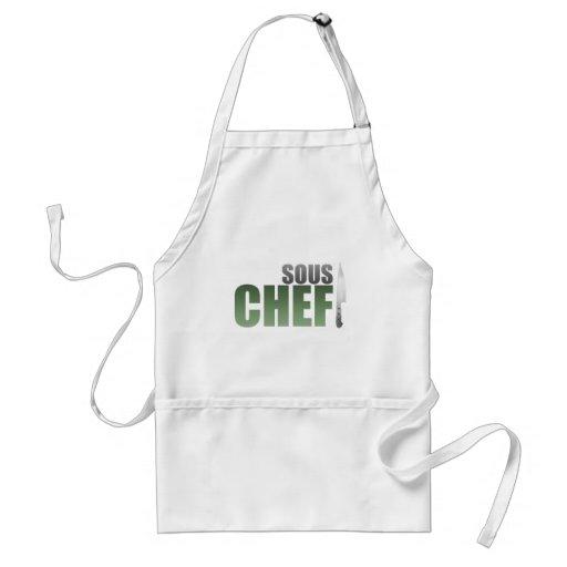 Green Sous Chef Apron