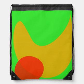 Green Space Cinch Bag