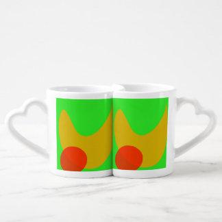 Green Space Couples Mug