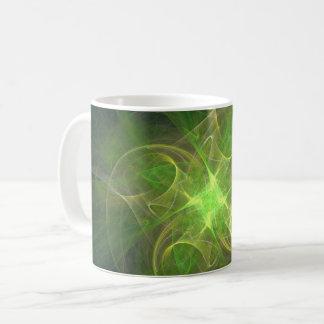 Green space elegant coffee mug