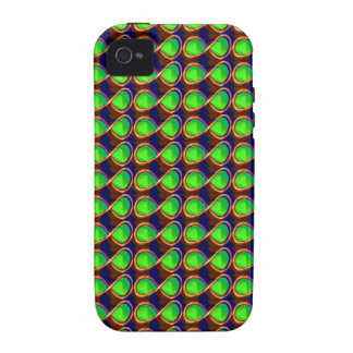 GREEN Sparkle Crystal Healing Light GIFTS GREETING Case-Mate iPhone 4 Covers