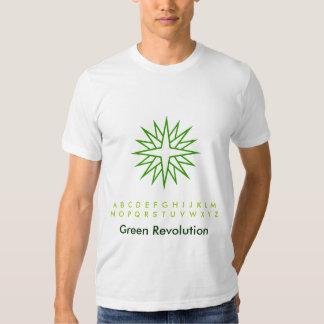 Green Sparkling Star T Shirts