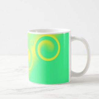 green spiral  Mug