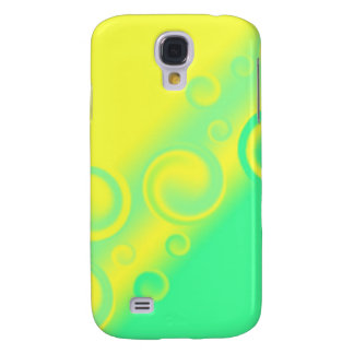green spiral Speck Case Galaxy S4 Case