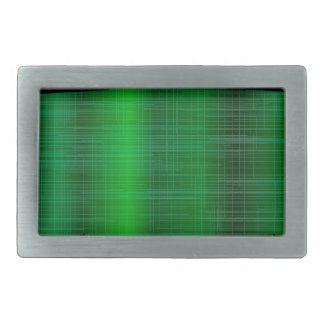 Green Splash Background Rectangular Belt Buckle