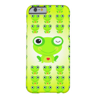 Green Splashes Barely There iPhone 6 Case