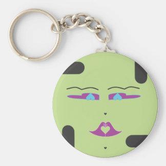 Green Sponap, Innili.ai Key Ring