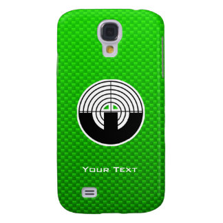 Green Sport Shooting Samsung Galaxy S4 Covers