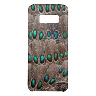Green Spotted Pheasant Feathers Case-Mate Samsung Galaxy S8 Case