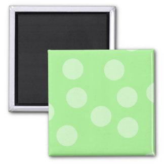 Green Spotty Pattern. Magnet