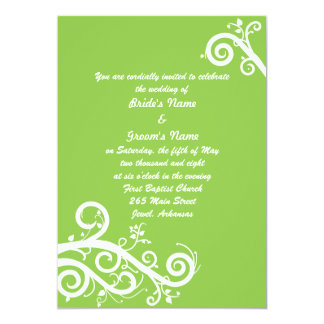 Green Spring Card