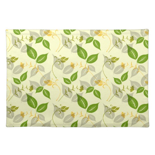 Green Spring Flourish Place Mats