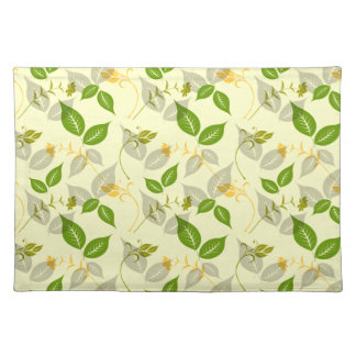 Green Spring Flourish Placemat