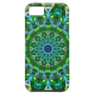 Green Spring Kaleidoscope iPhone 5 Cover