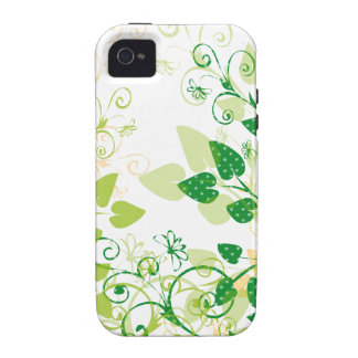 Green Spring Leafs iPhone 4/4S Cases