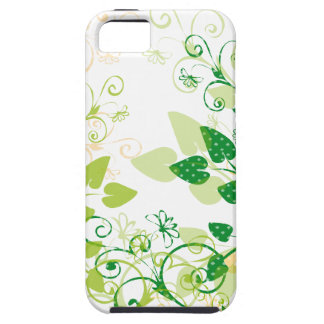 Green Spring Leafs iPhone 5 Cases