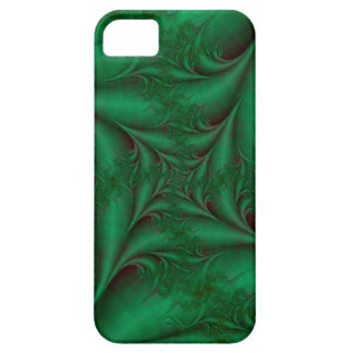 Green Square Spiral iPhone 5 Case