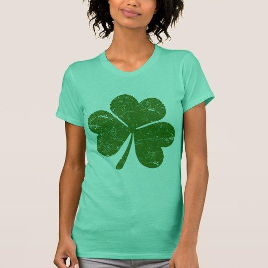 Green St. Patrick's Day Classic Shamrock T-Shirt