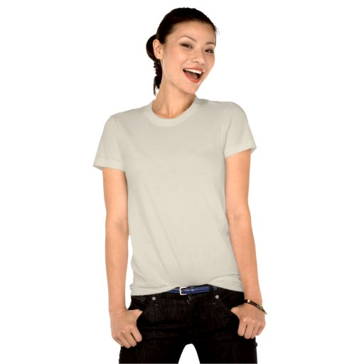 Green St. Patrick's Day & Recycle Ladies T-Shirt