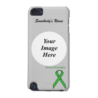 Green Standard Ribbon by Kenneth Yoncich iPod Touch 5G Case