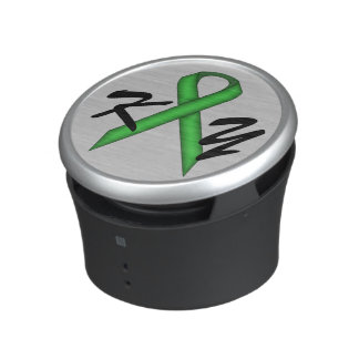 Green Standard Ribbon by Kenneth Yoncich Speaker