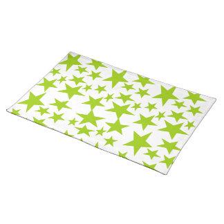 Green Stars Place Mat