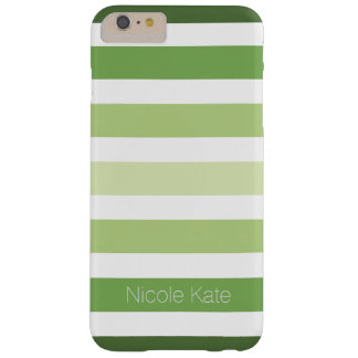 green striped barely there iPhone 6 plus case