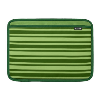 Green Stripes custom MacBook sleeve