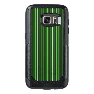 Green Stripes OtterBox Samsung Galaxy S7 Case