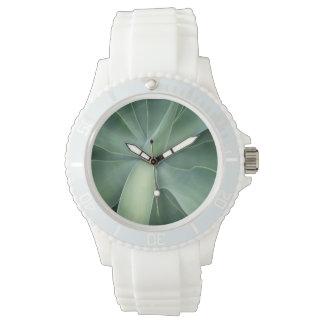 Green Succulent Watch