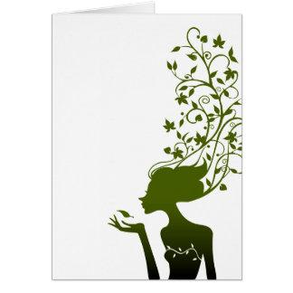 green sugar card
