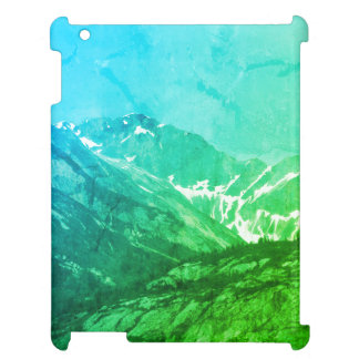Green Summer Mountains Ipad Case