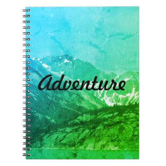 Green Summer Mountains Notebook