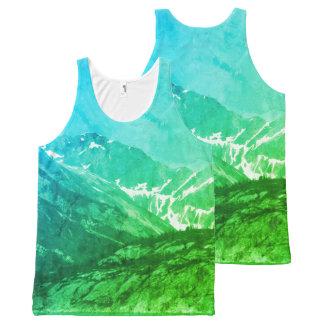 Green Summer Mountains Tank