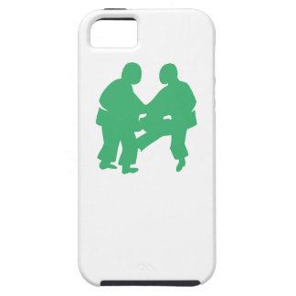 Green Sumo Wrestling iPhone 5 Cases