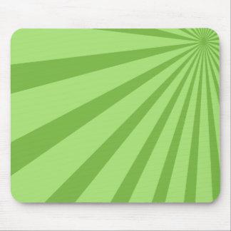 Green Sunburst Mousepad