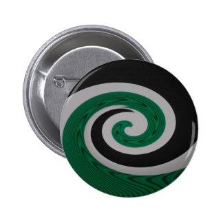 Green Surf round button