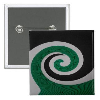 Green Surf square button